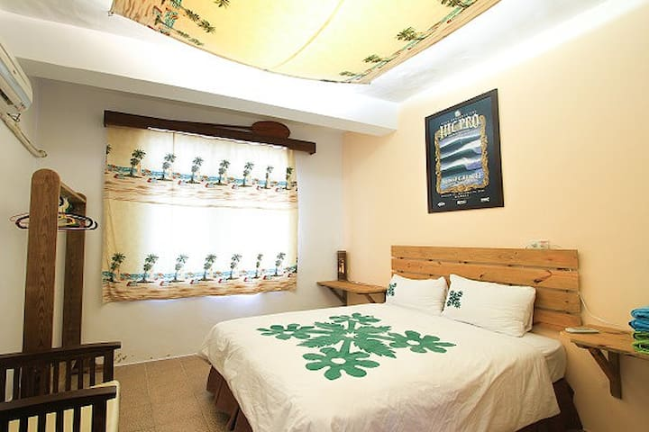Private Room for 4-person 4人套房 - Manzhou Township - 獨棟