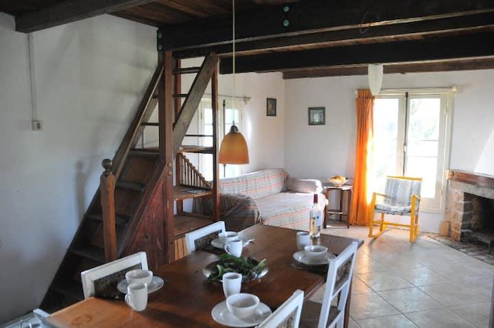 Cabaña completa con estufa en Valizas.