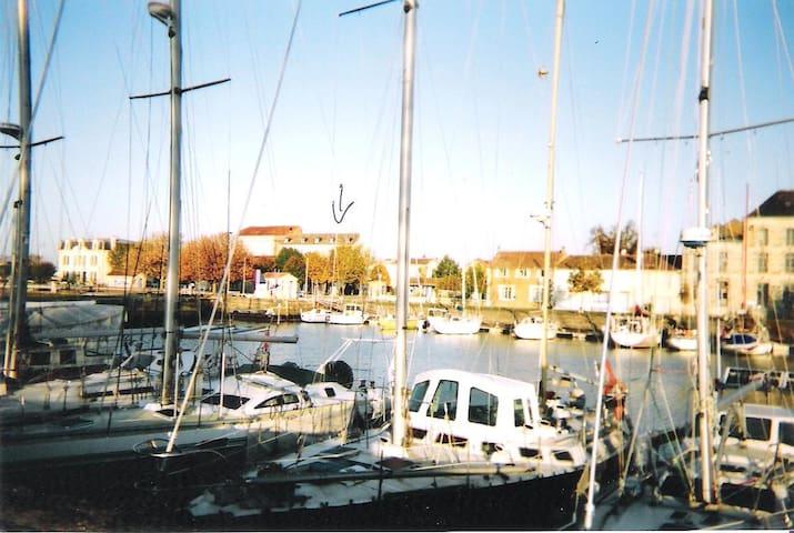 Résidence sur le Port de Mortagne sur Gironde - Mortagne-sur-Gironde - Apartamento