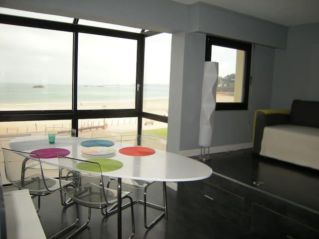 Trestraou: Splendide vue sur mer - Perros-Guirec - Apartment
