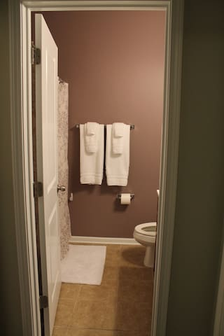 Full Bathroom (Towels and Wash Cloths Provided)