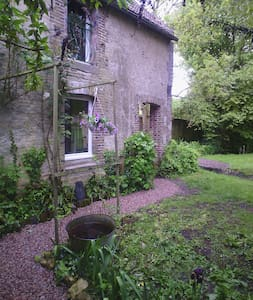 Les petits jardins: le lavoir