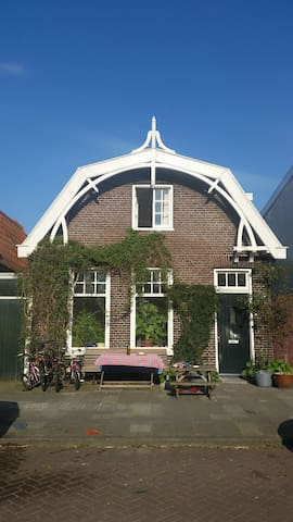 "Traditional Dutch ""Dyke House"" 1914 - Amsterdam - House"