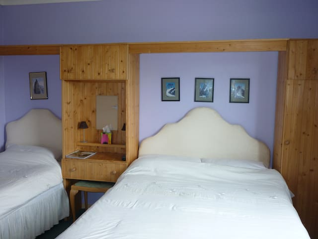 triple room in friendly B&B