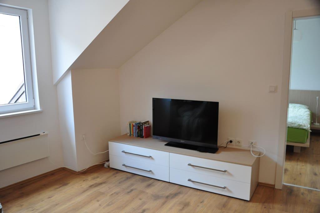 Mansard apartment bovec appartementen te huur in bovec tolmin sloveni - Badkamer mansard ...