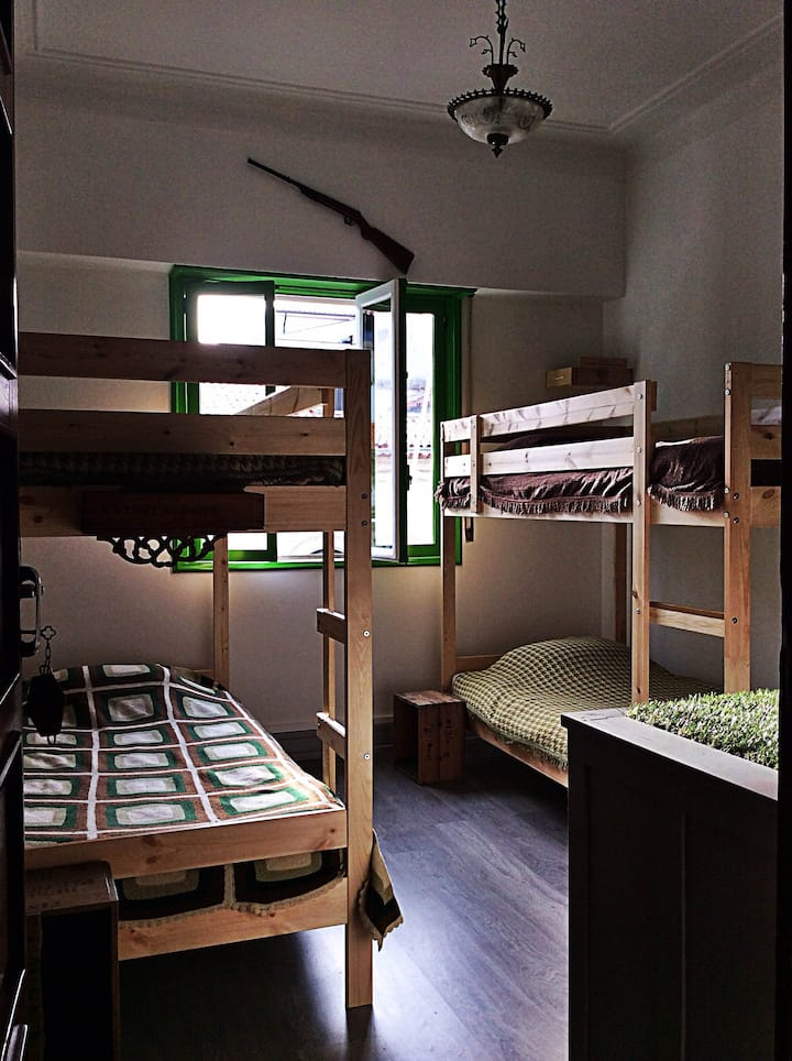 """Nature"" room - bed in mixed dormitory"