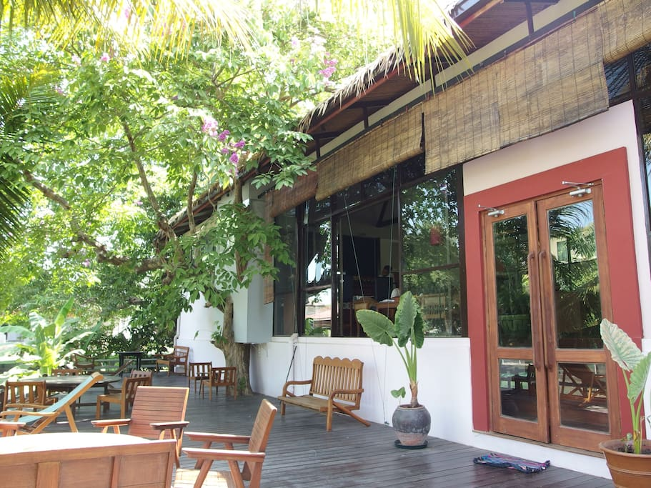 Greenery myanmar styles residence cottages for rent in for Kitchen furniture yangon