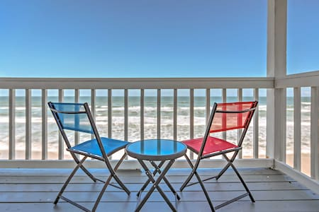 Tranquil 4BR Oceanfront New Smyrna Beach House - New Smyrna Beach - Hus