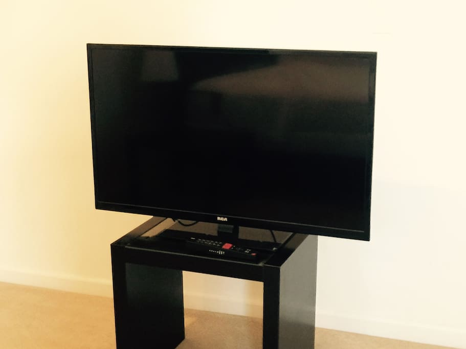 TV in Master Bedroom