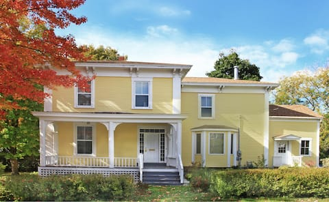Victorian Elegance: The Yellow House - Quoddy Room