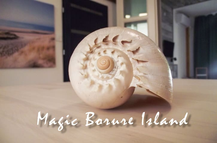 Magic bordure Island