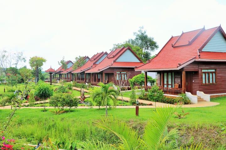 Phum Khmer Resort - Ratanakiri Province - Bungalou