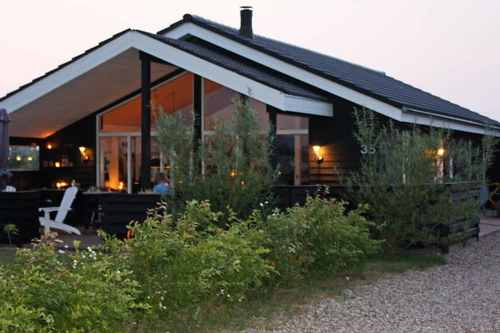 Striking Holiday Home in Tarm Denmark with Terrace