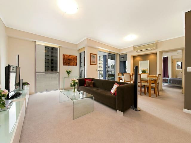 Stunning 2B in the heart of the CBD - Brisbane - Lejlighed