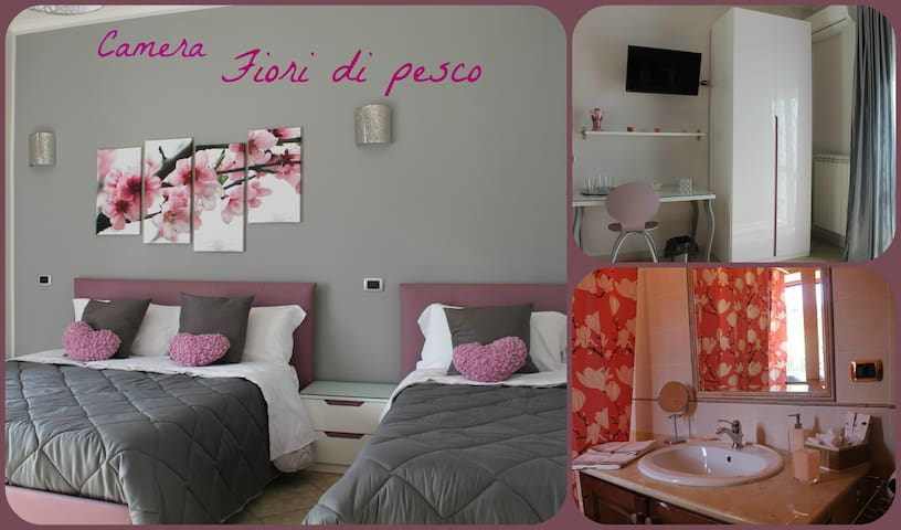 B&B Vesuvio Smiling Fior di pesco - Ercolano - Bed & Breakfast