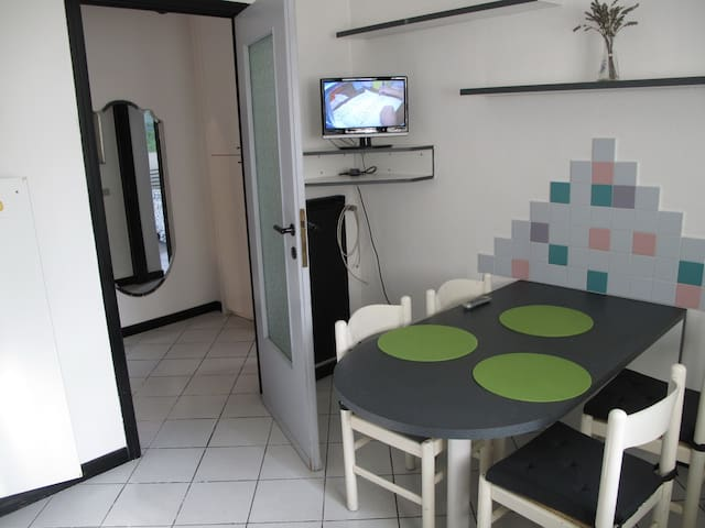 Apartament in Villa with garden