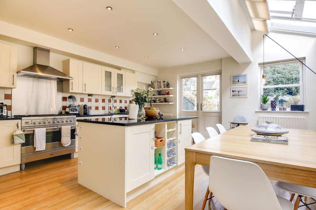 Our property has everything you need; a spacious, open-plan kitchen...