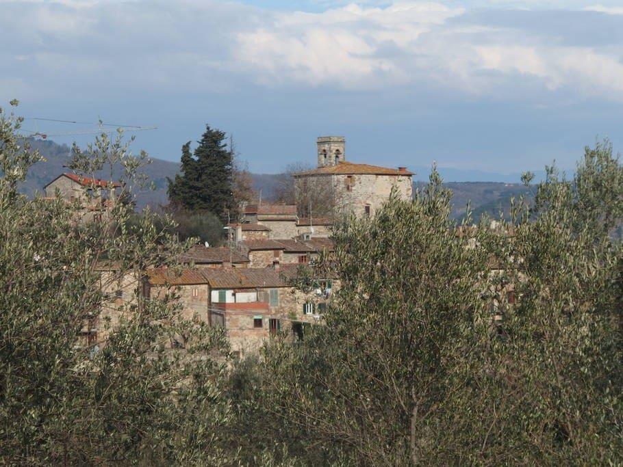 Mediaeval village of Montefioralle
