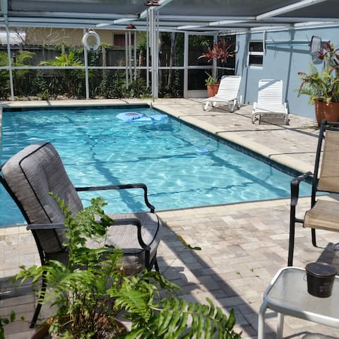 Private complete 2 BR In-Law suite with pool - Fort Lauderdale - Apartment
