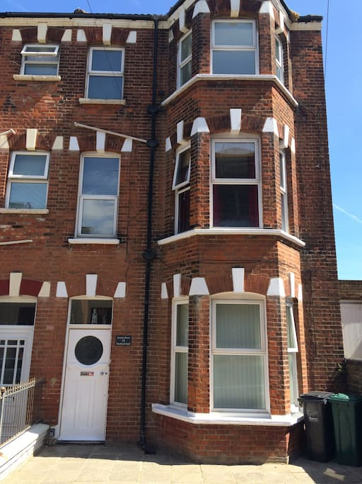 our lovely, Victorian, end of terrace :)