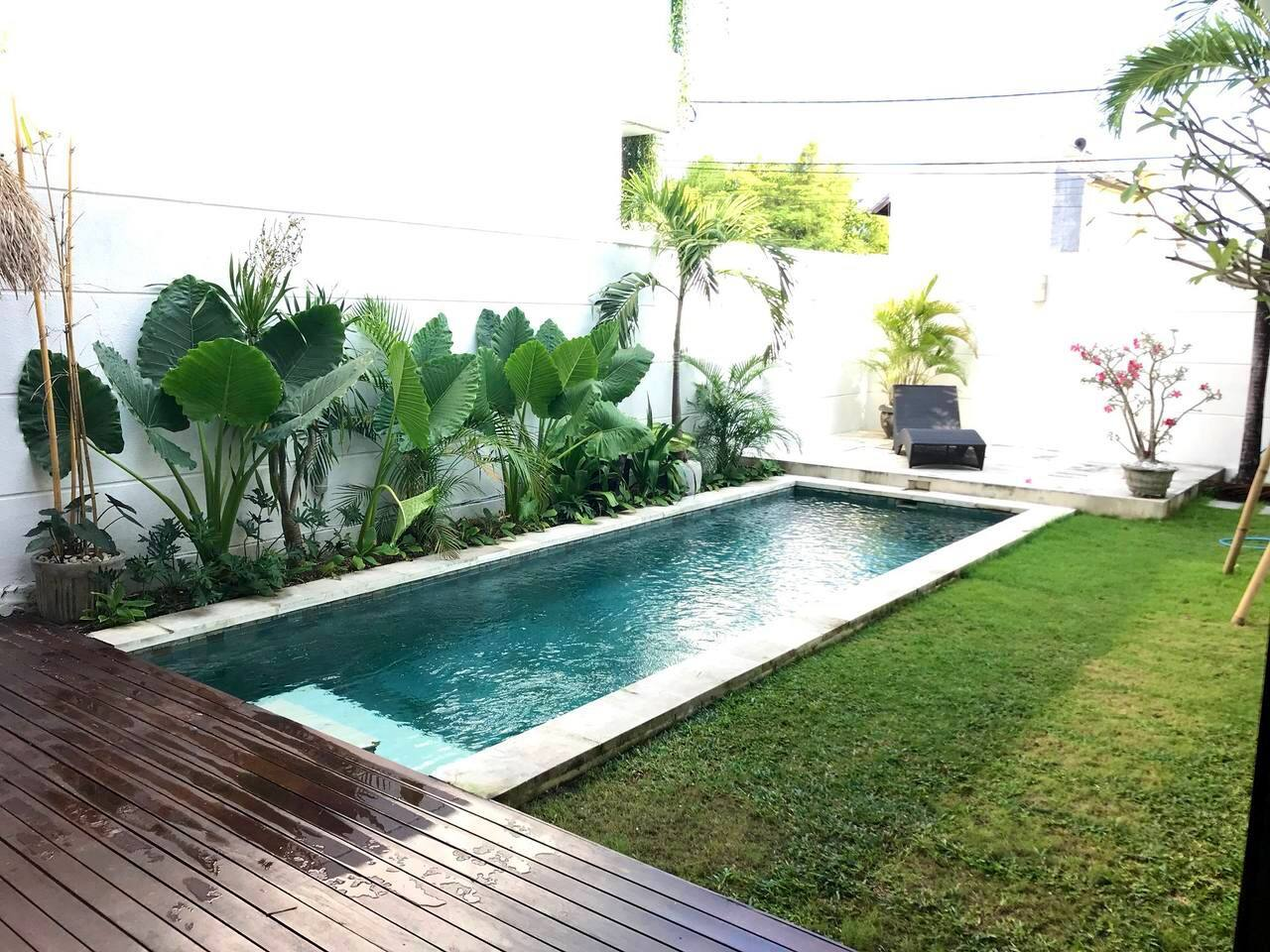 Private outdoor pool 5x2m