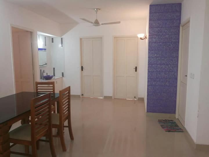 Budget 3bhk flat near kaloor stadium .