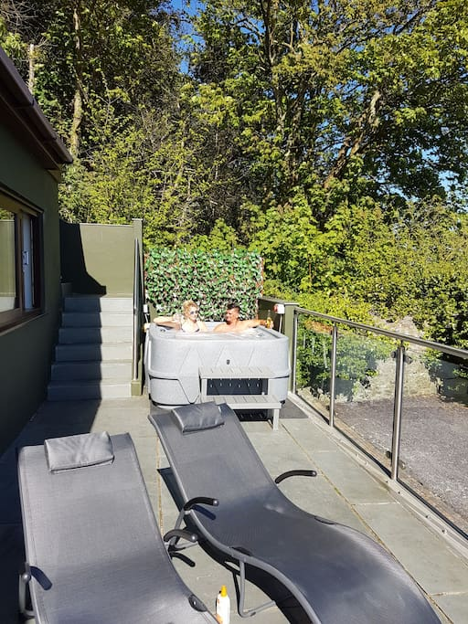 Private Hot Tub in secluded spot