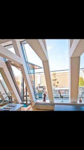Zentral gelegene Maisonettwohnung mit Dachterrasse
