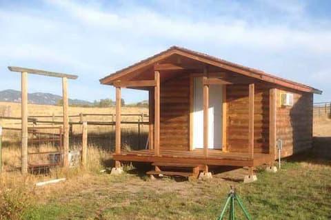 Crazy Woman rustic cabin.
