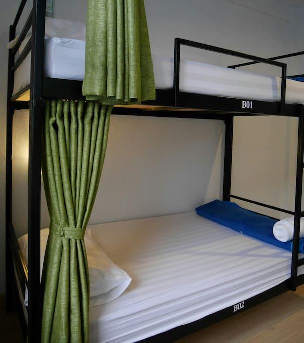 Infinity hostel Bunk Bed Mix Dormitory Room