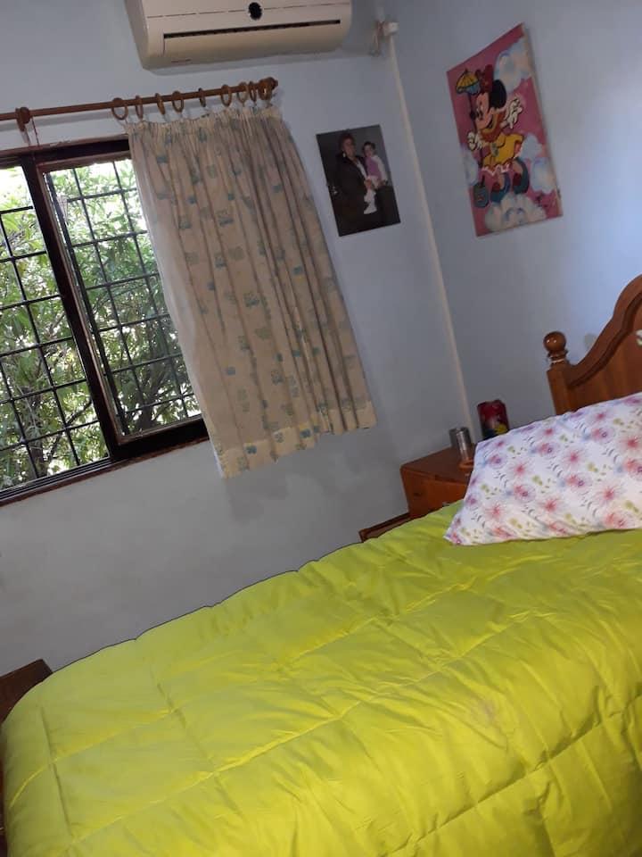 Hermosa habitación a 5' del centro.Traslado free!!
