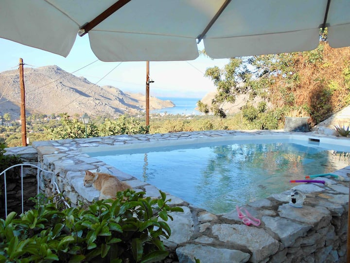 VILLA PANORAMA;   Serene and Exclusive  Symi