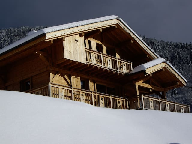 CHALET COSY NEUF*** A LOUER - MORZINE - 10/12 PERS - Morzine - Chalet