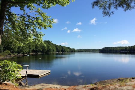 Intimate Lakeside Maine Cottage! - Lincolnville - Бунгало
