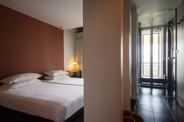 Loog Choob Homestay: Cozy room #403 - Bangkok - Huis