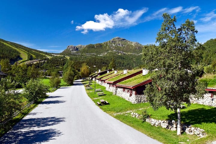 Mølla Hyttegrend, in the heart of Hemsedal