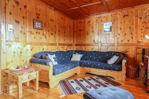 Appartement dans chalet de montagne.