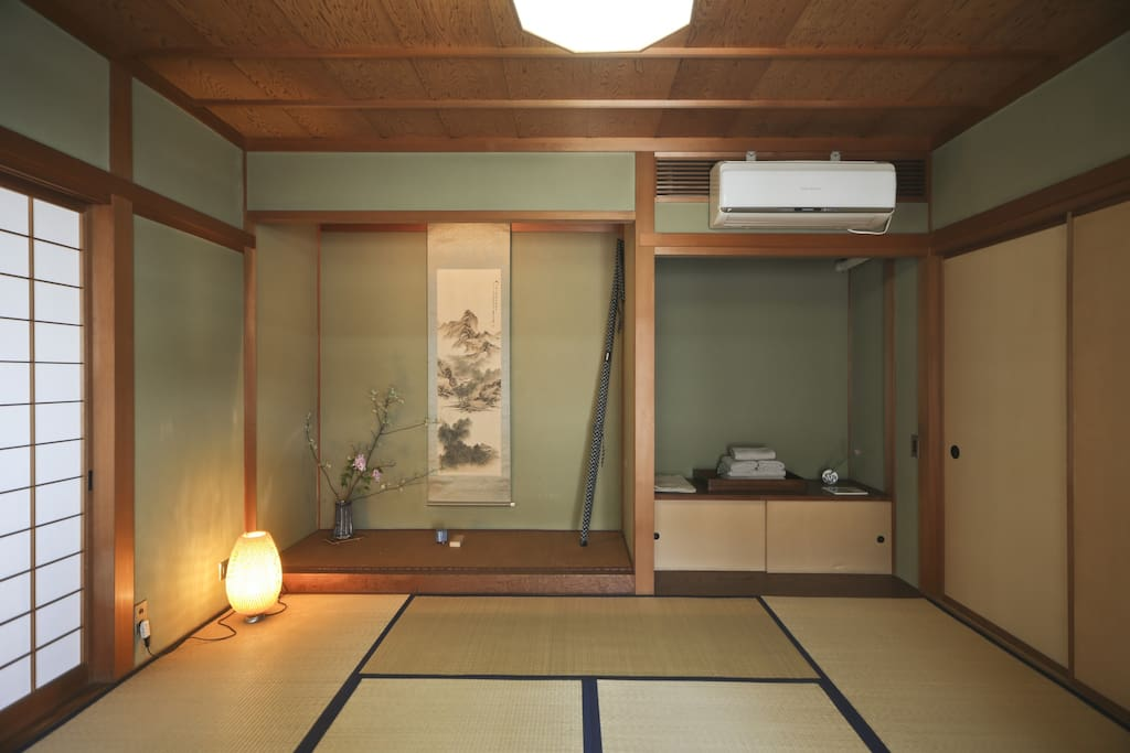 Larger room with Tokonoma
