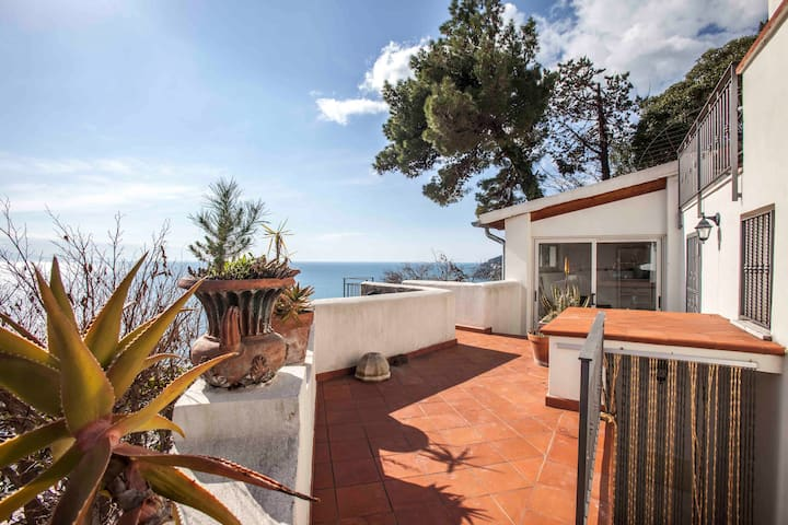 delightful love nest,seaview,amalfi