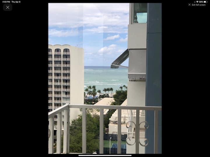 """""""Isla Verde Condo with partial ocean/city views."""""""
