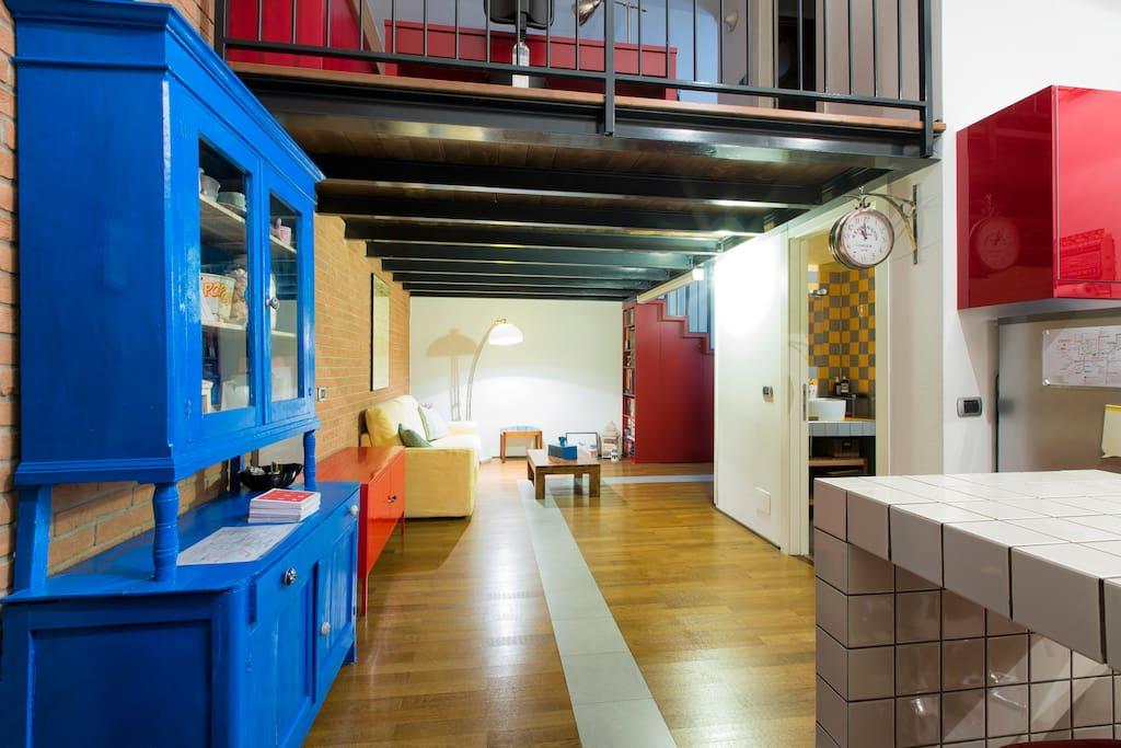 Amazing loft near sempione 39 s park lofts for rent in for Living milano sempione