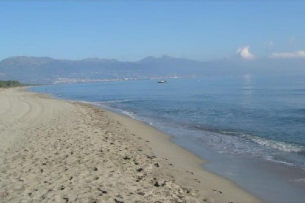 Balade sur une plage de Cap sud