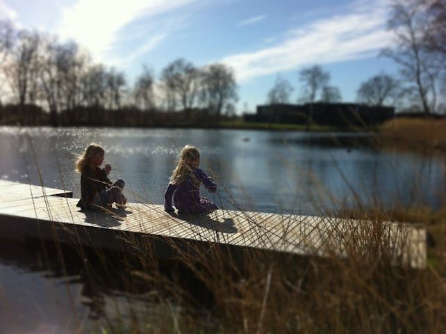 Børnevenligt tæt på natur og kultur - Kvistgård - House