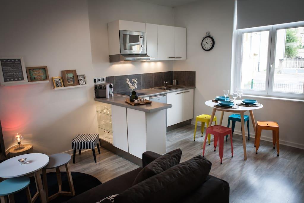 appart hotel metz la chambre de sophie appartements louer metz lorraine france. Black Bedroom Furniture Sets. Home Design Ideas