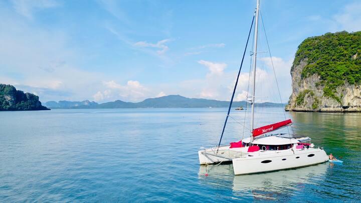 Croisière de Rêve sur Catamarans PRIVÉ-Luxury boat