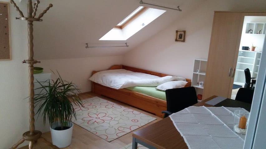 Ruhiges Zimmer mit Sternenblick - Alsdorf - Lägenhet