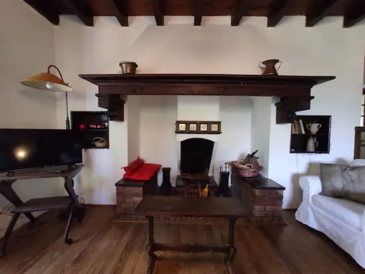 Vacation Villa Capanna Alma with Mountain View, Balcony & Garden; Parking Available
