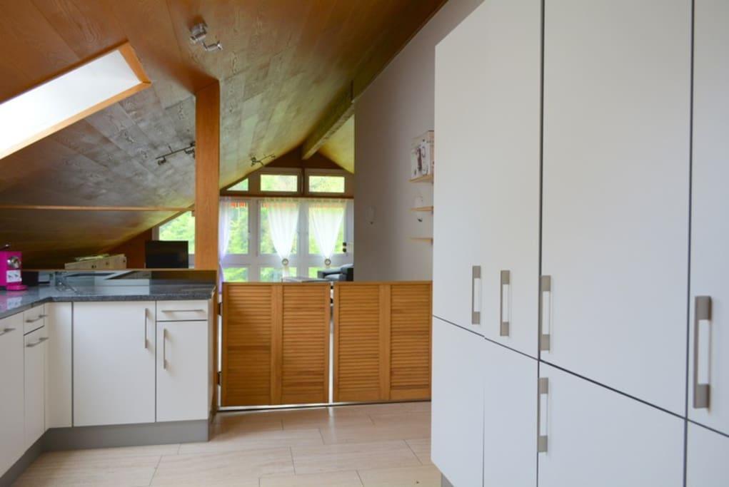 Küche Suite -  zur alleinigen Benützung bei Buchung der Suite