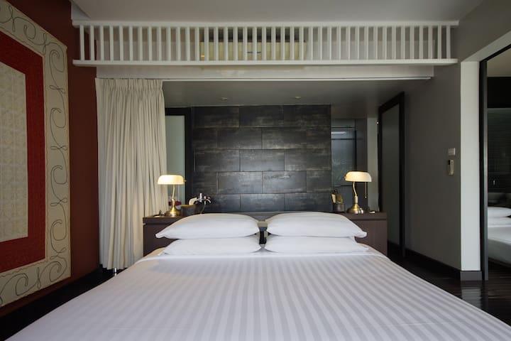 Loog Choob Homestay: A family suite - Bangkok - Huis