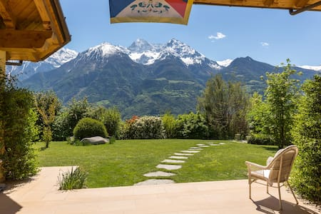 Pace sole campagna 3 km Aosta  - Saint-Christophe - Apartment